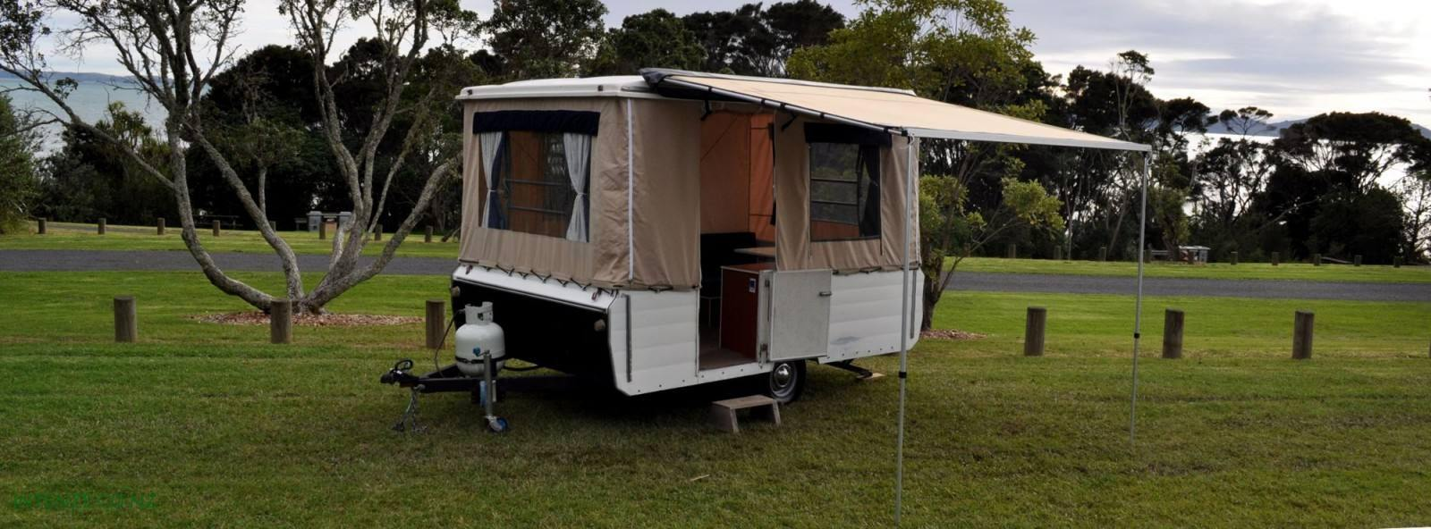 Wide Range Of Quality Canvas Replacement Surrounds And Awnings For NZ Australian Pop Top Caravans