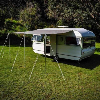 Shade-Roof Awning 3.0m x 2.5m Dark Grey