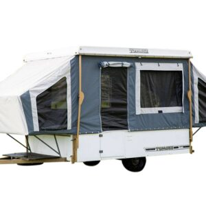 Topagee 4 Brave pop top camper canvas band by intenze.co.nz