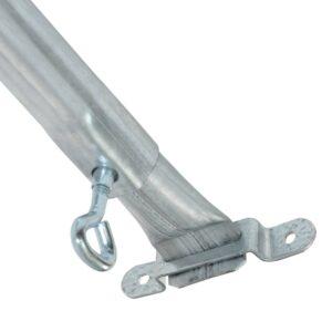 Adjustable Awning Spreader Pole 2.75m Flat Hook to Eye