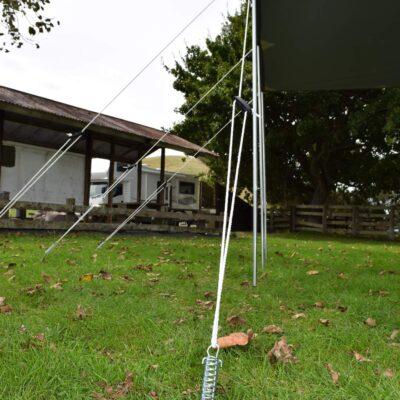 150mm Guy rope spring – Tracer spring