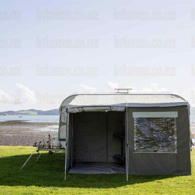 our fabulous walk through caravan awnings by intenze.co.nz