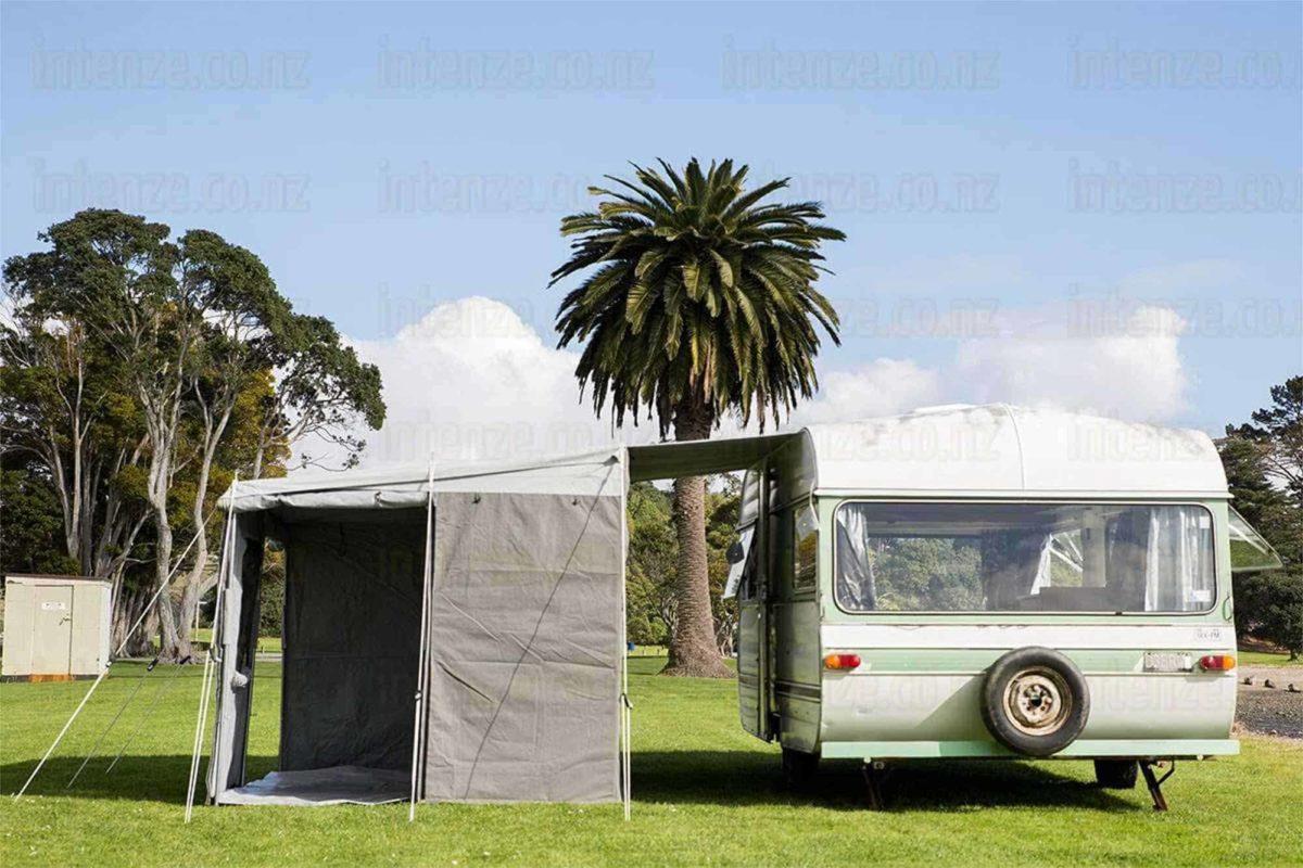 our fabulous walk through caravan awnings by intenze.co.nz