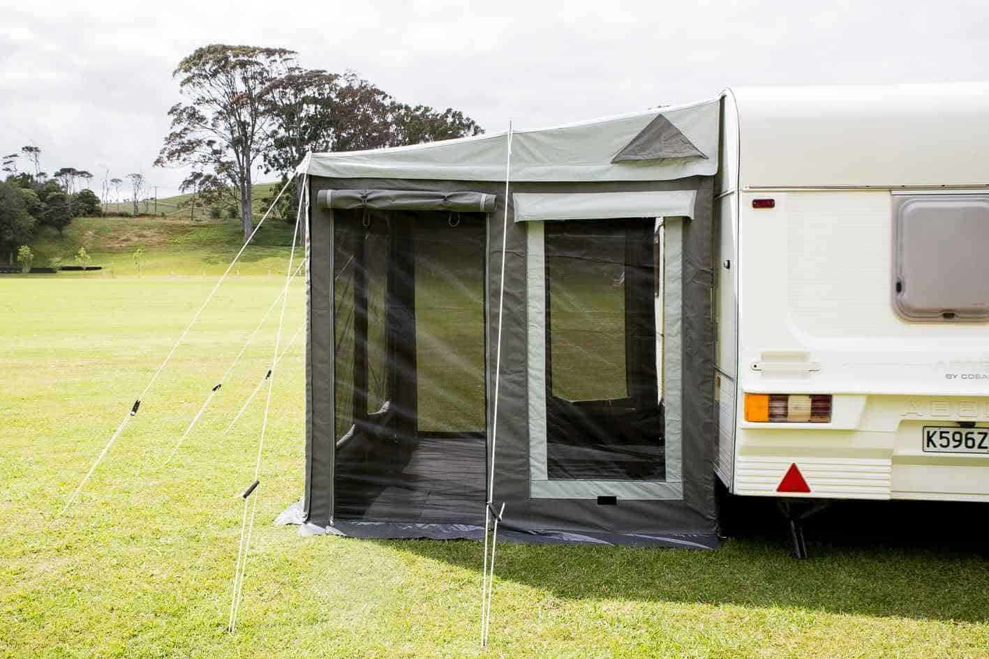'Universal Awning' 4m x 2.2m - 6mm awning rope for ...