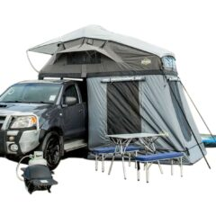 Our premium luxmore family rooftop tent by intenze.co.nz