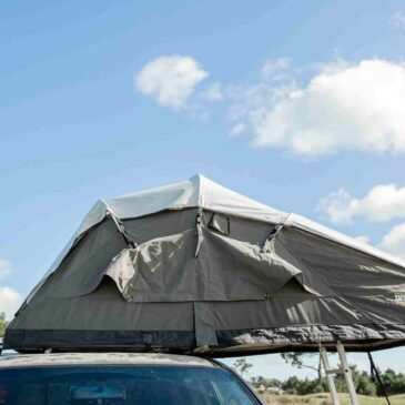 Our fantastic Luxmore Roof Top Family Tent, 8 years worth of design by intenze.co.nz