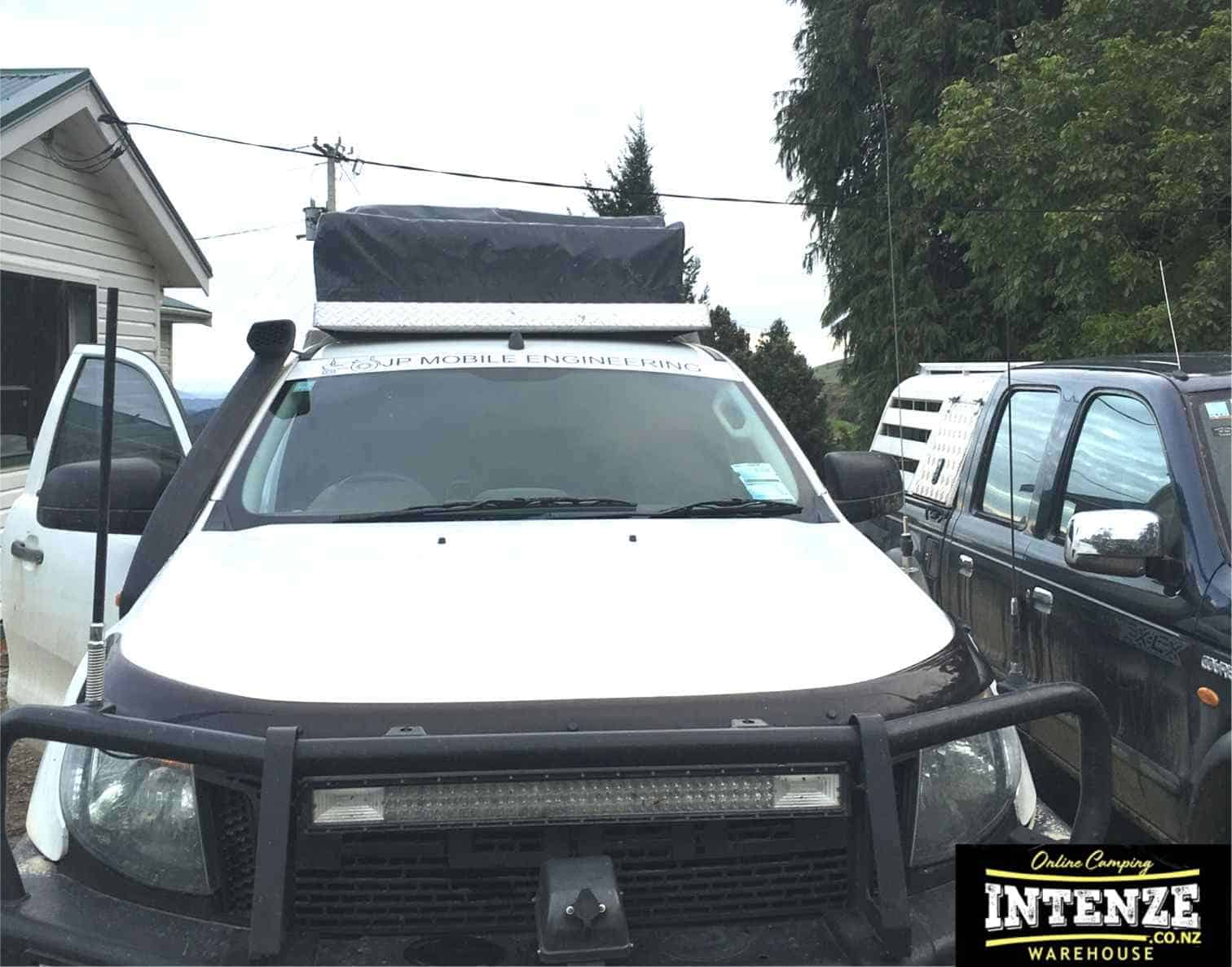 out on safari with intenze.co.nz Luxmore Roof Top Tents NZ
