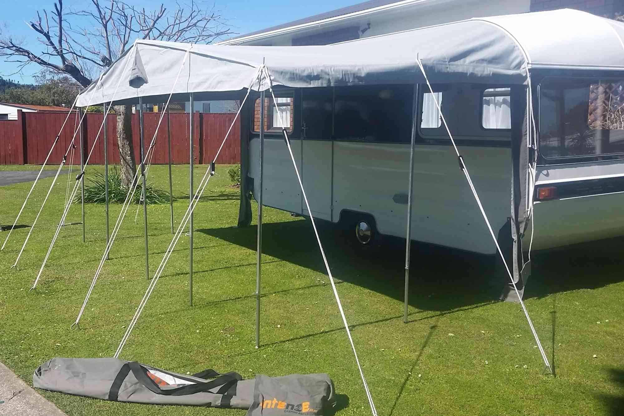Awning for Liteweight 1500 Caravan with Detachable walls ...