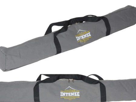 Premium pole tent-fishing heavy canvas bag with zip