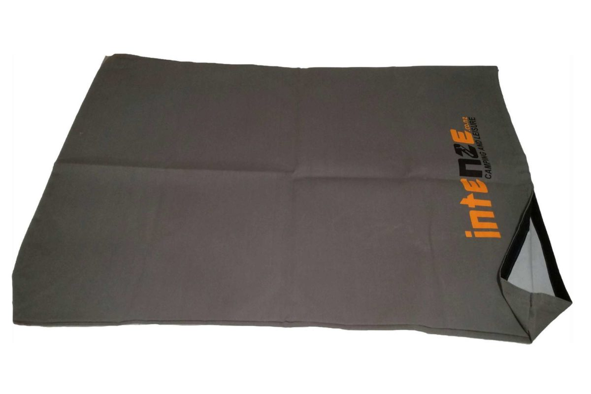 Large flat canvas tent bag by Intenze camping
