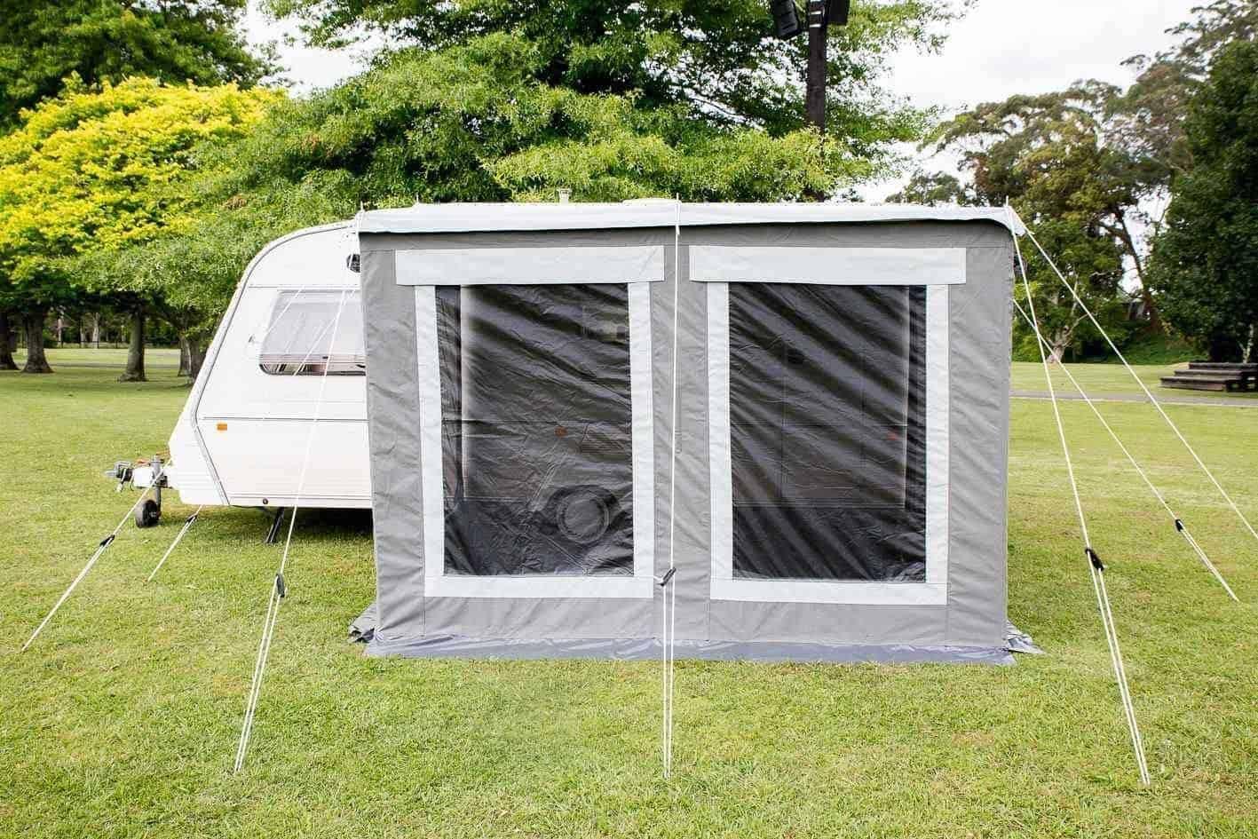 Universal Awning 2.5m x 2.2m - Choose for NZ or EU Caravan ...