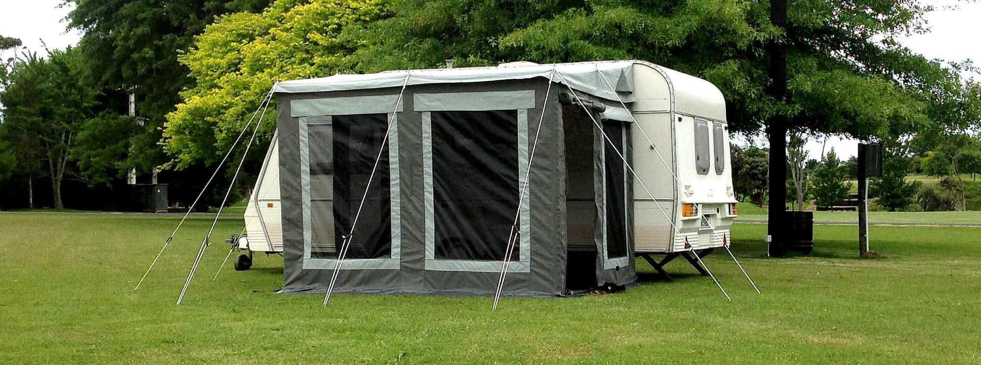 Our very versatile universal awning room for nz and eu caravans by intenze.co.nz